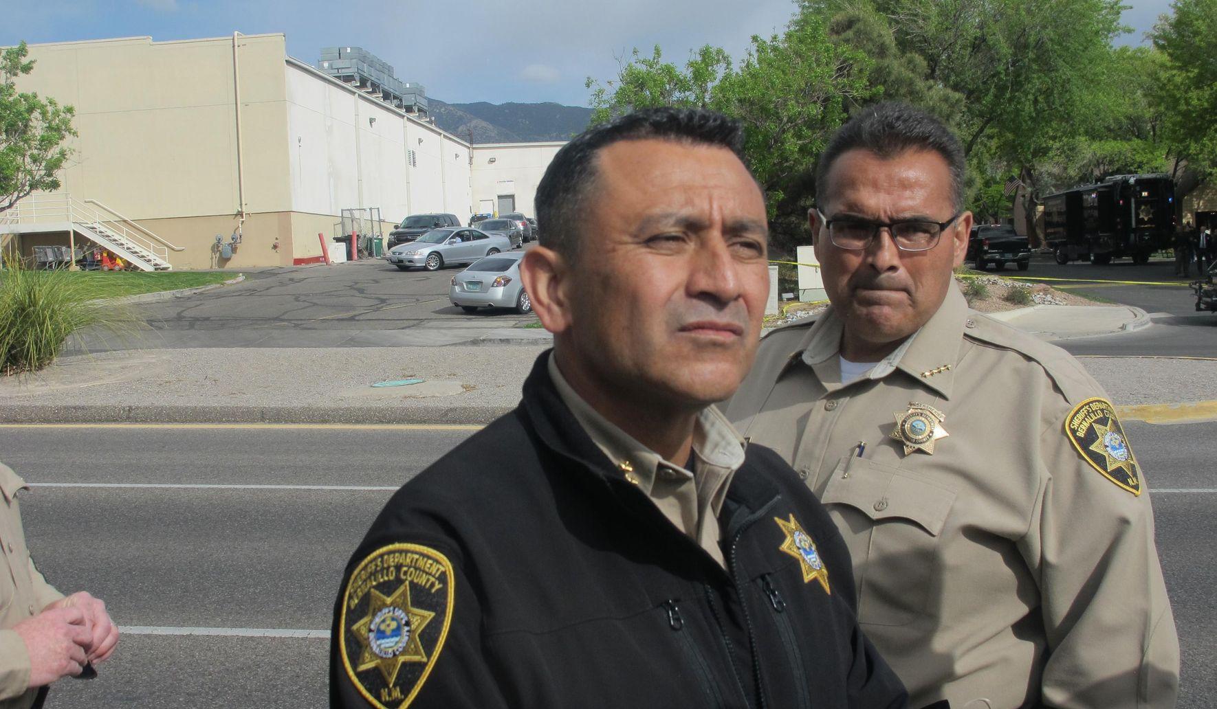 Sheriff: Fugitive killed in officer-involved shooting