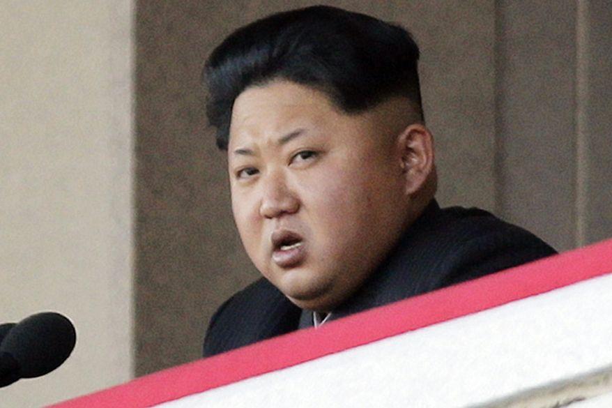 North Korean leader Kim Jong-un delivers remarks at a military parade in Pyongyang, North Korea, in this Oct. 10, 2015, file photo. (AP Photo/Wong Maye-E, File) **FILE**