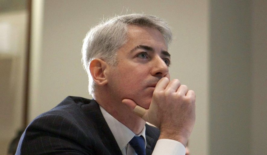 FILE - This Feb. 6, 2012, file photo, shows William Ackman, of Pershing Square Capital Management, in Toronto. Senators investigating price hikes by Valeant Pharmaceuticals will question hedge fund manager Ackman and former finance chief Robert Schiller at a hearing scheduled for Wednesday, April 27, 2016. (Pawel Dwulit/The Canadian Press via AP, File)