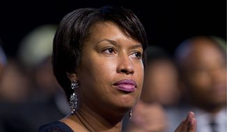 D.C. Mayor Muriel Bowser has committed herself to advocating for a ballot initiative on a constitutional convention for statehood, noting that the city's residents and businesses have paid $256 billion in federal taxes since 2002. (Associated Press)