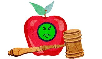 Fruit of the Poisonous Tree Illustration by Greg Groesch/The Washington Times