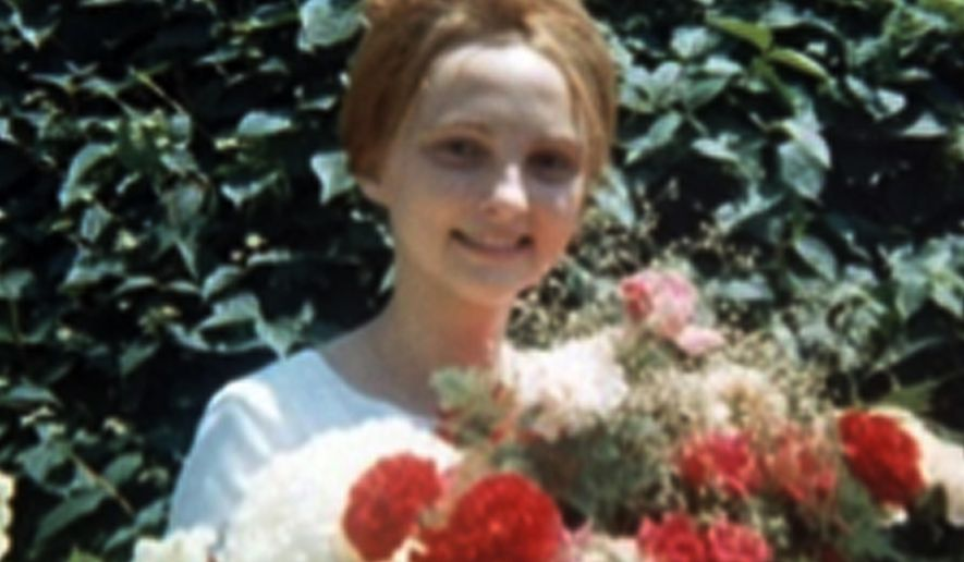 "This undated photo provided by Anne Jurvetson shows her sister, Reet Jurvetson, of Montreal. Los Angeles police said Wednesday, April 27, 2016, they're investigating whether Reet Jurvetsen, newly identified as the 19-year-old young woman found stabbed over 100 times in 1969, is connected to the Manson family killings. Investigators have interviewed Charles Manson about the woman and are now trying to track down a man known as either ""John,"" or the name's French pronunciation, ""Jean,"" said Detective Luis Rivera. (Anne Jurvetson via AP)"
