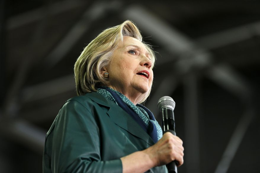 Some fear Hillary Clinton represents a continuation of the Obama foreign policy that has fallen short, while others warn that on issues such as trade and the willingness to intervene militarily abroad she will break markedly with President Obama. (Associated Press)