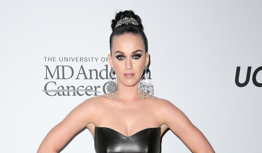 Katy Perry arrives at Sean Parker and the Parker Foundation's Gala Celebrating a Milestone in Medical Research in Los Angeles, in this April 13, 2016, file photo. (Photo by Rich Fury/Invision/AP, File)