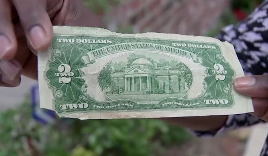 A Houston eighth grader was reportedly investigated for forgery after she tried to use an authentic $2 bill to pay for lunch at school. (KTRK)