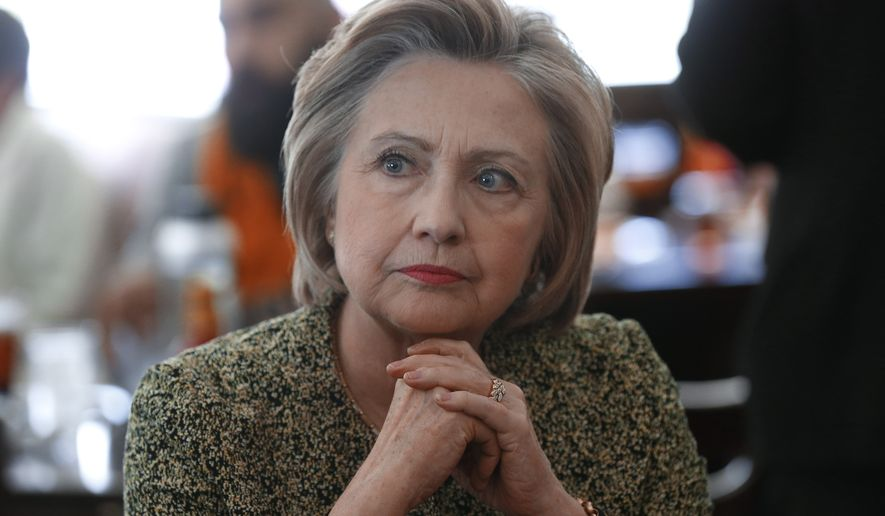 An FBI investigation into Hillary Clinton's private email server is ongoing. (Associated Press)