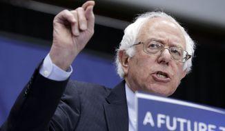 Networks called Indiana for Sen. Bernard Sanders at 9:10 p.m. (Associated Press)