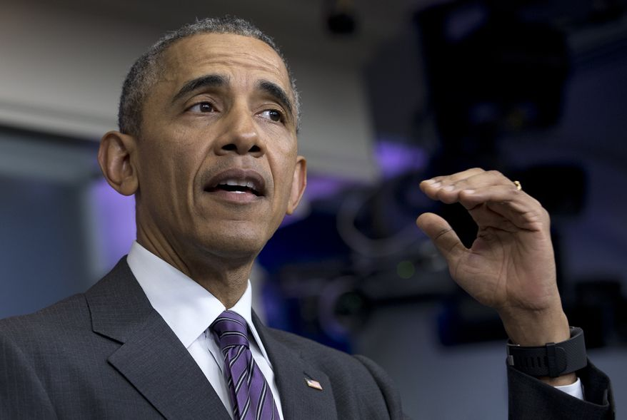 """""""[Donald Trump] is not somebody who, even within the Republican Party, can be considered as equipped to deal with the problems of this office,"""" Mr. Obama told an ABC-affiliate in New Hampshire in an interview that aired Monday evening. (Associated Press)"""
