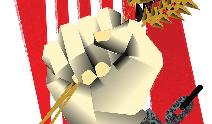 The False Promise of Socialism Illustration by Linas Garsys/The Washington Times