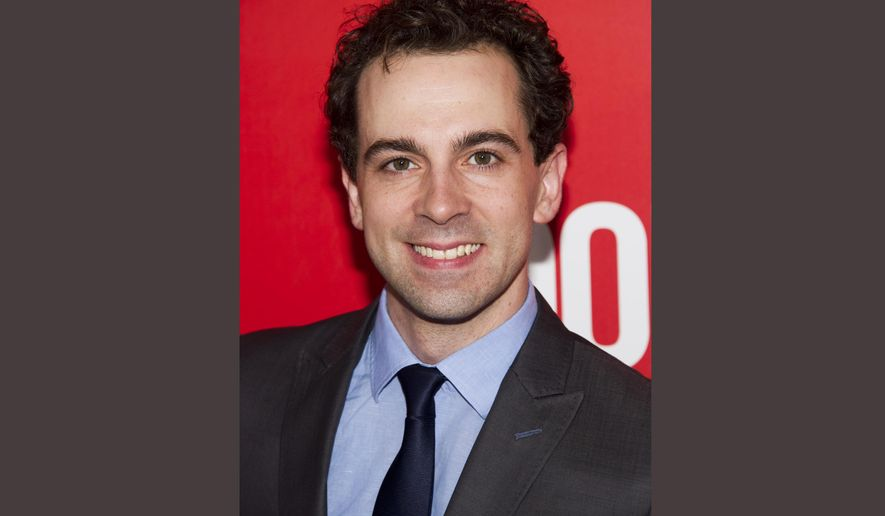 """FILE - In this Sept. 12, 2013 file photo, Rob McClure attends the """"Don Jon"""" in New York. McClure takes over for Brian d'Arcy James Broadway musical """"Something Rotten!"""". (Photo by Charles Sykes/Invision/AP, File)"""