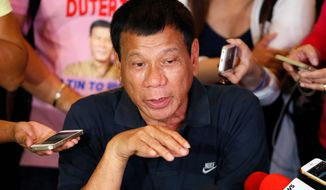 Rodrigo Duterte would bring a sharp break in style and substance from outgoing President Benigno Aquino, who has worked to improve ties with the U.S. military. (Associated Press)