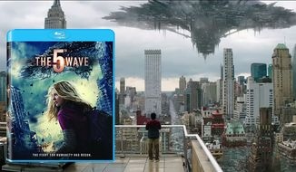 "An alien invasion threatens humanity in ""The 5th Wave,"" now available on Blu-ray from Sony Pictures Home Entertainment."