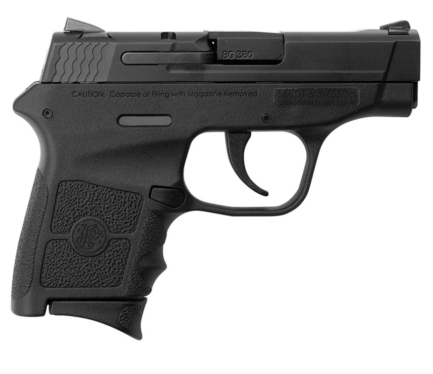 The Smith & Wesson M&P Bodyguard is a .380 featuring a ...
