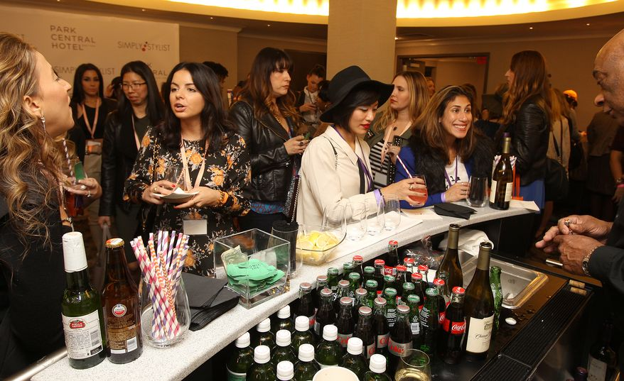 General view at the Simply Stylist Fashion & Beauty Conference at the Park Central Hotel in New York on Oct. 25, 2014 (Donald Traill/Invision/AP) **FILE**
