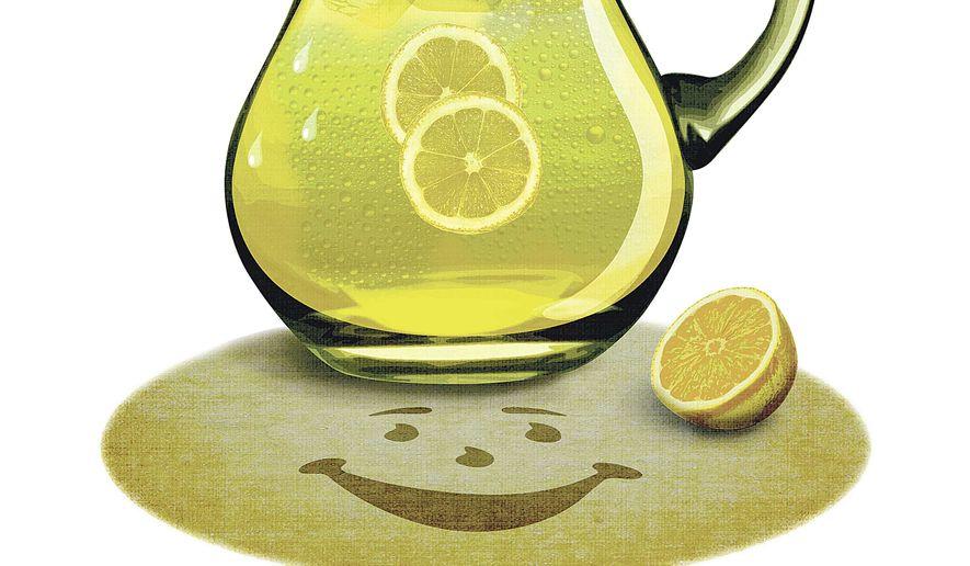 Pitcher of Lemonade Illustration by Greg Groesch/The Washington Times