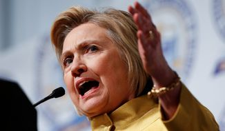 Democratic presidential candidate Hillary Clinton finds herself in the unique position of being the party's presumptive nominee while continuing to lose primaries. (Associated Press)
