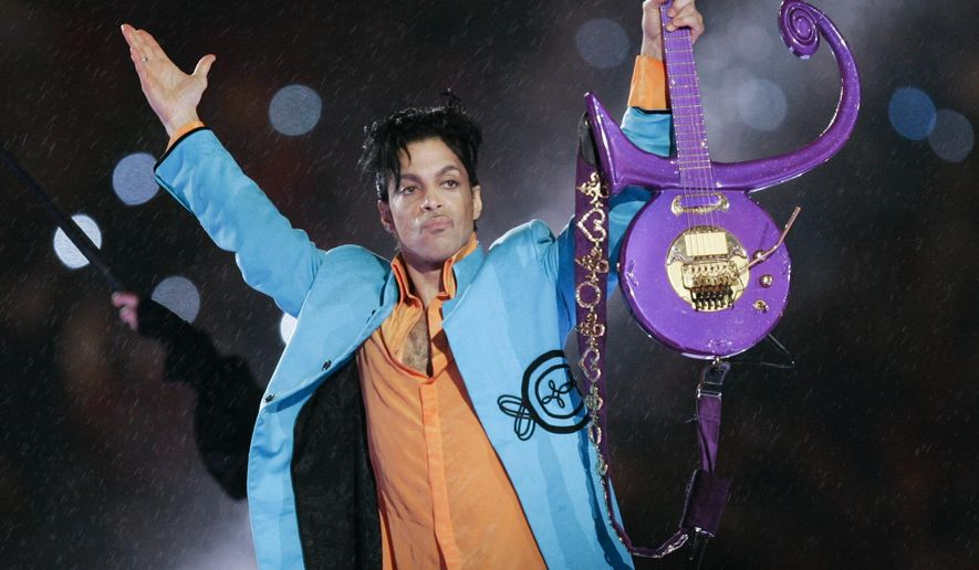 FILE - In this Feb. 4, 2007, file photo, Prince performs during halftime of the Super Bowl XLI football game in Miami. The work of settling Prince's estate is being carried out behind closed doors by lawyers who aren't talking about it. But estate attorneys unconnected to the case say they have a good idea what's happening. (AP Photo/Chris O'Meara, File)