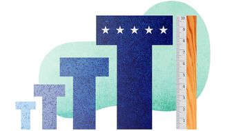 Trump Working Toward a Perfect '10' Illustration by Greg Groesch/The Washington Times