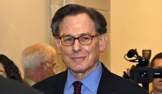 Sidney Blumenthal, a longtime confidant to Bill and Hillary Clinton, is linked to a shadowy figure named Cody Shearer in reports on the Trump-Russia collusion scandal. (Associated Press/File)