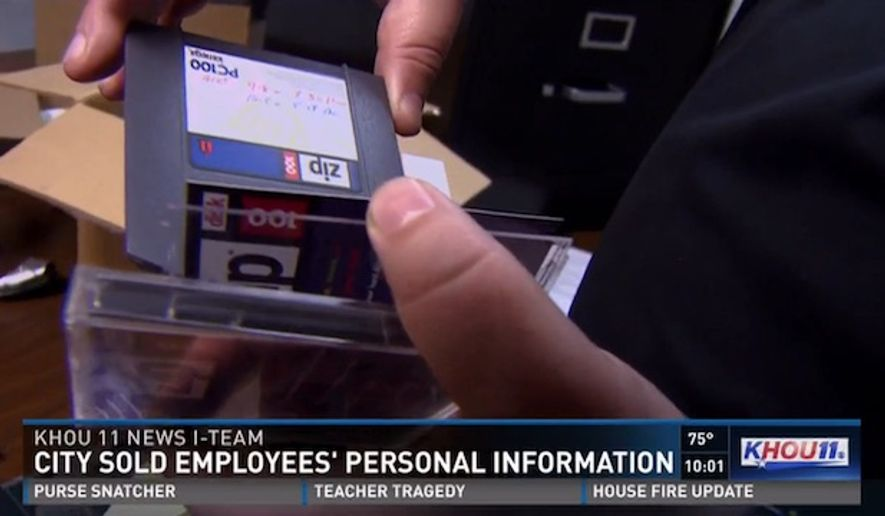 The City of Houston is admitting it made a mistake after the personal information of more than 800 current and former city employees was sold by the city at auction in February. (KHOU 11)