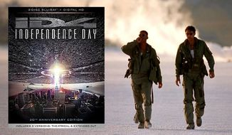 "Will Smith and Jeff Goldblum star in ""Independence Day: 20th Anniversary Edition,"" now available on Blu-ray from 20th Century Fox Home Entertainment."