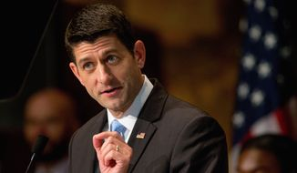 House Speaker Paul Ryan, whose goals conflict with Republican presidential candidate Donald Trump, meets Thursday with the businessman. (Associated Press)