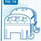 Illustration on GOP unity by Linas Garsys/The Washington Times