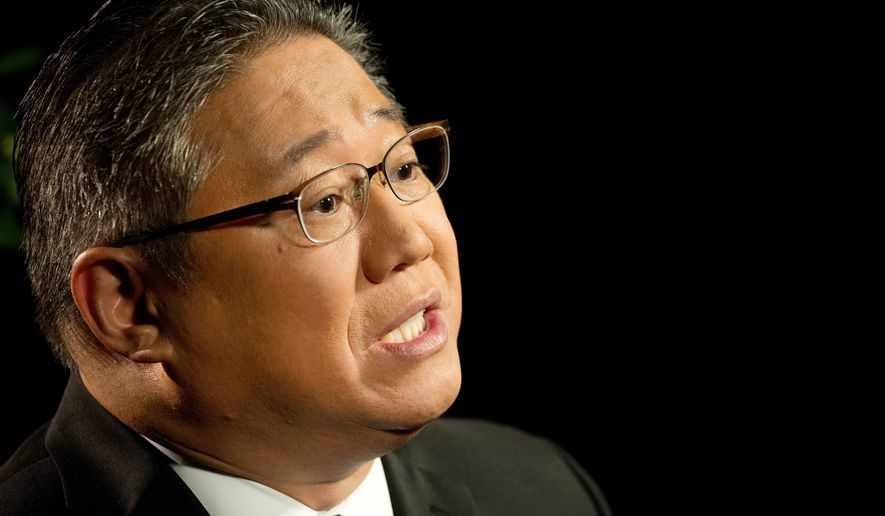 Kenneth Bae, a U.S. citizen who was detained in North Korea for two years, said his Christian faith helped him get through his incarceration. (Associated Press)
