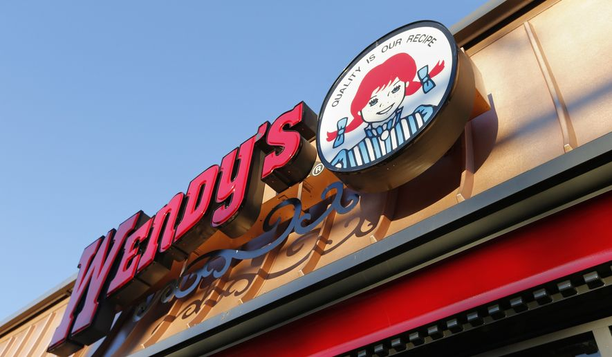 A Wendy's restaurant in Providence, R.I., is seen here on March 21, 2014. (Associated Press) ** FILE **
