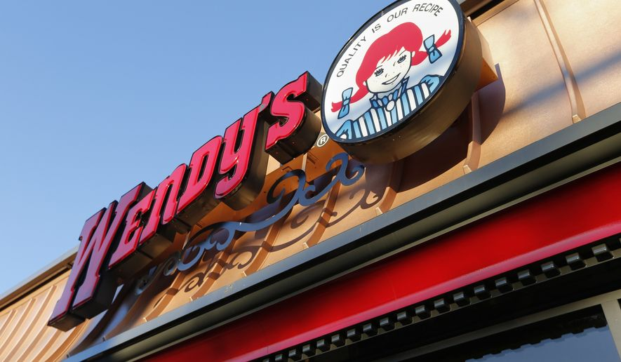 A Wendy's restaurant in Providence, R.I., is seen here on March 21, 2014. (Associated Press) **FILE**