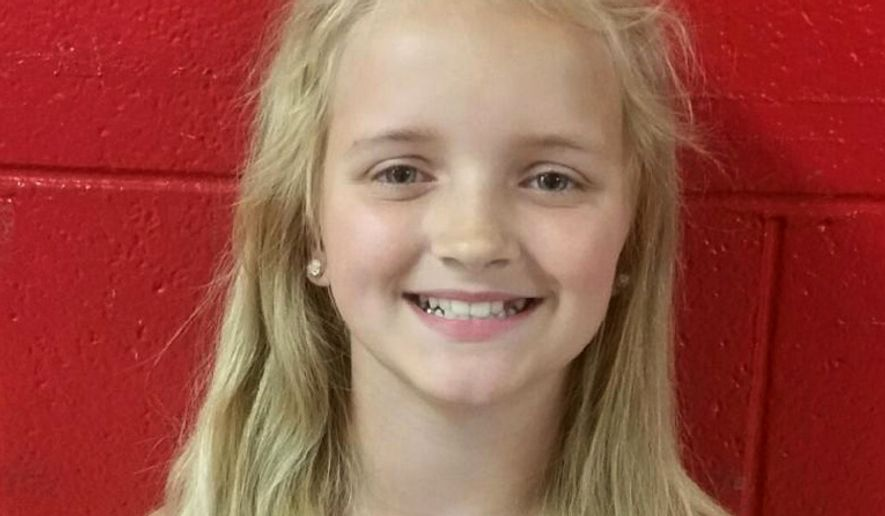 Nine-year-old Carlie Trent has been found, but Hawkins County police did not identify who had been arrested in her disappearance. (Associated Press)