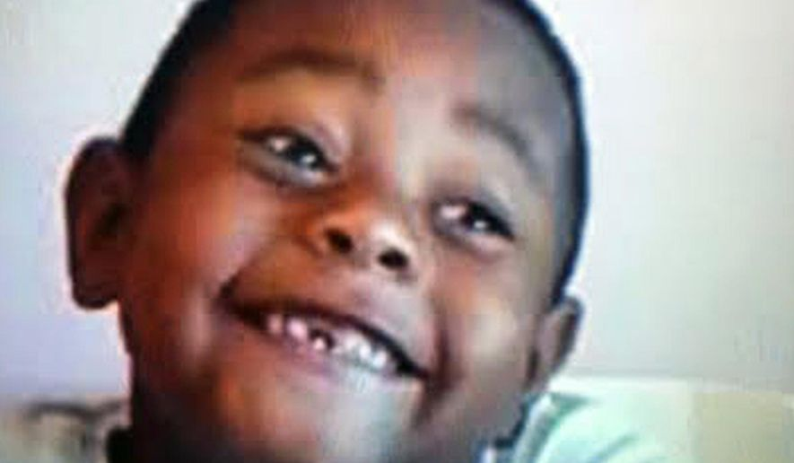 This undated photo provided by the North Las Vegas Police Department shows Amari Connor. The police are seeking the publics help in locating the boy who's been missing since leaving his home with a family acquaintance on Wednesday, May 11, 2016, in North Las Vegas. (North Las Vegas Police Department via AP) MANDATORY CREDIT