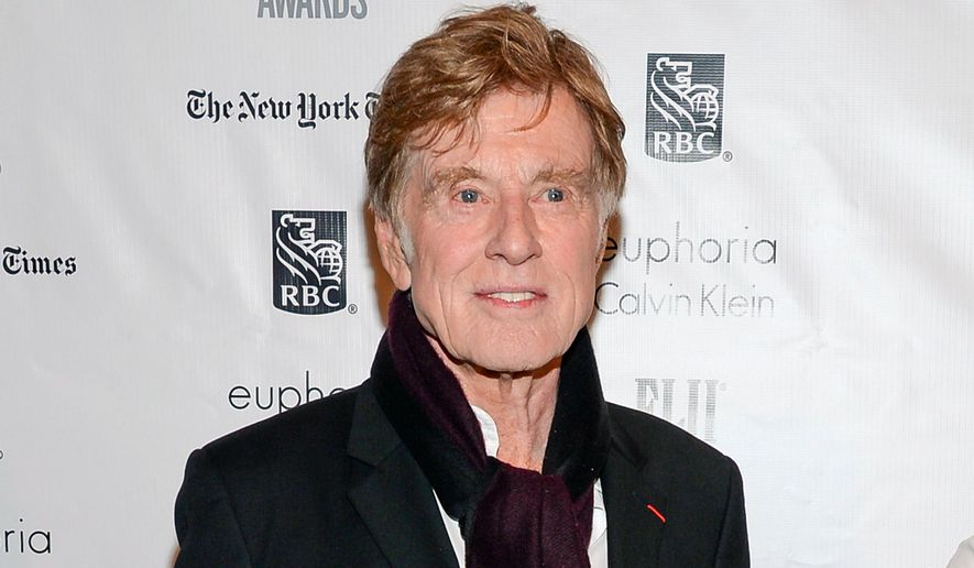 In this Nov. 30, 2015, file photo, actor Robert Redford attends The Independent Filmmaker Project's 25th Annual Gotham Independent Film Awards in New York. (Photo by Evan Agostini/Invision/AP, File)