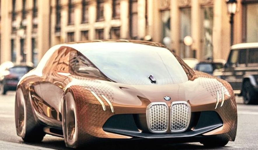 BMW's Vision NEXT 100 concept car (BMW)