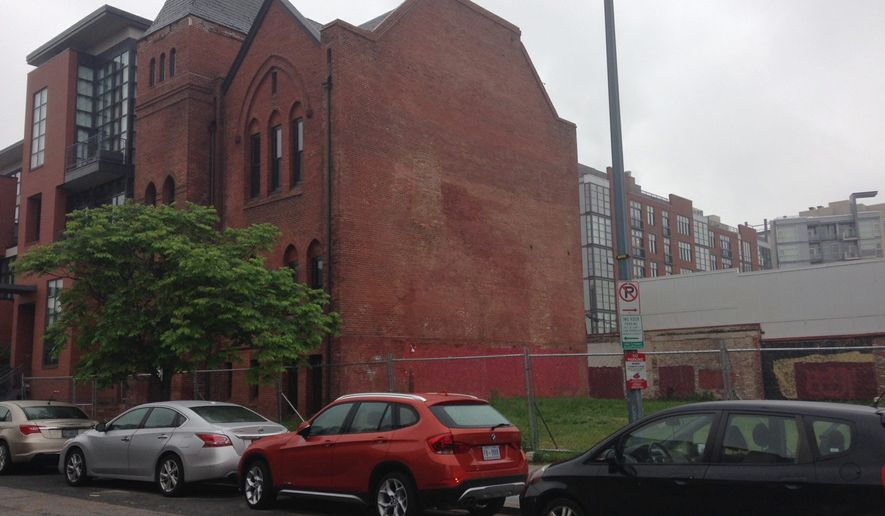 The proposed homeless shelter would house up to 30 families in the refurbished Morning Bright Church. The site, which is part of D.C. Mayor Muriel Bowser's $22 million-a-year initiative, will be cost taxpayers about $38 million over a 30-year lease. (Ryan M. McDermott/The Washington Times)