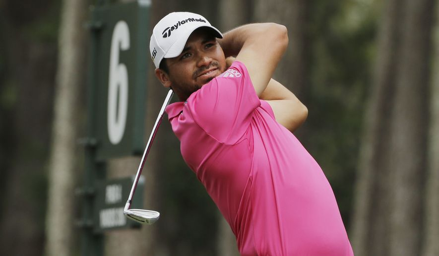 Jason Day of Australia, hits from the sixth tee during the final round of The Players Championship golf tournament Sunday, May 15, 2016, in Ponte Vedra Beach, Fla. (AP Photo/Chris O'Meara)