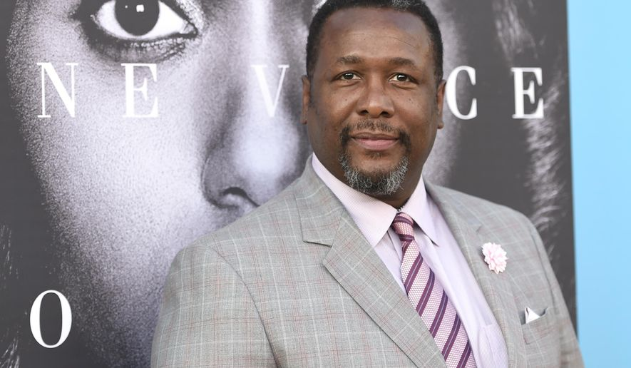 """FILE - In this March 31, 2016, file photo, Wendell Pierce arrives at the Los Angeles premiere of """"Confirmation"""" at the Paramount Theatre. Police say Pierce has been arrested at an Atlanta hotel where he was a guest. Atlanta Police Department spokesman Donald Hannah says in a statement that Pierce was arrested early Saturday, May 14, at the Loews Atlanta Hotel. (Photo by Chris Pizzello/Invision/AP, File)"""