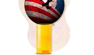 Obamacare Meds Illustration by Greg Groesch/The Washington Times