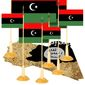 Illustration on the perils of further Libyan disunity by Alexander Hunter/The Washington Times