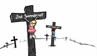 Cartoon by Marc Murphy. (Image: Twitter/@MurphyCartoons)