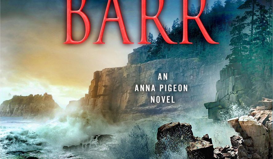 "This book cover image released by Minotaur shows, ""Boar Island,"" by Nevada Barr. (Minotaur via AP)"