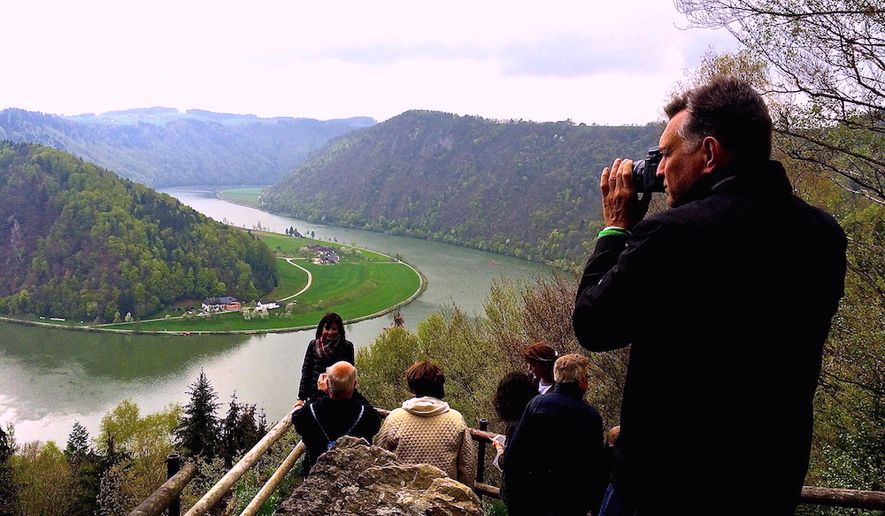 A hike through forests to a scenic spot overlooking the Danube River comes with a legend of good fortune for all who go there.