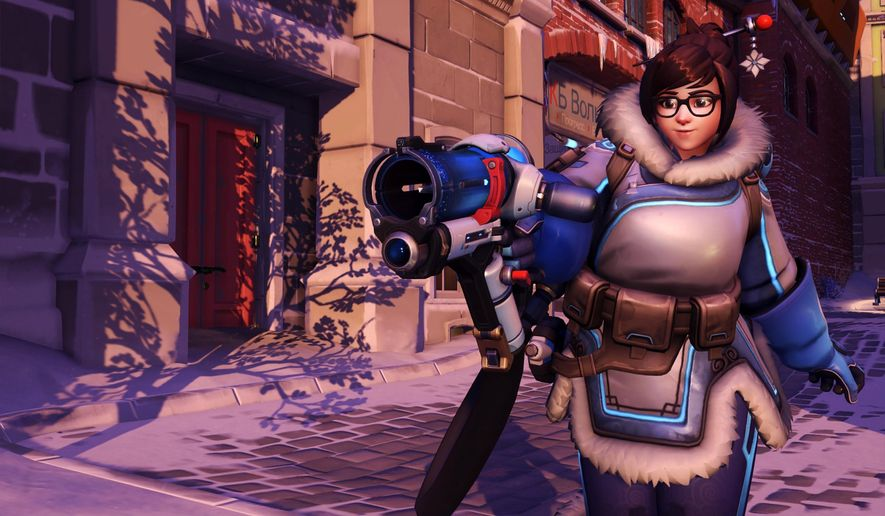 "This image released by Blizzard Entertainment shows Mei, a character from the ""Overwatch,"" video game. For years, the video game industry has been criticized for not depicting a more diverse array of characters. However, a new wave of multiplayer games like ""Overwatch"" are featuring heroes of different races, genders, nationalities, sexual orientations and body types. (Blizzard Entertainment via AP)"