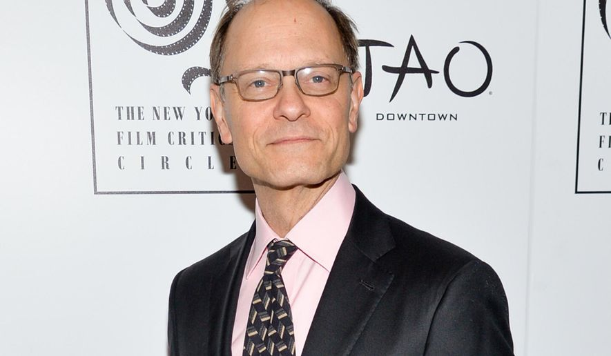 """FILE - In this Jan. 4, 2016 file photo, actor David Hyde Pierce attends the New York Film Critics Circle Awards in New York. Pierce will play opposite Bette Midler in the upcoming Broadway revival of """"Hello, Dolly!"""" Performances on Broadway begin on March 13, 2017, with an official opening night of April 20, 2017. (Photo by Evan Agostini/Invision/AP, File)"""