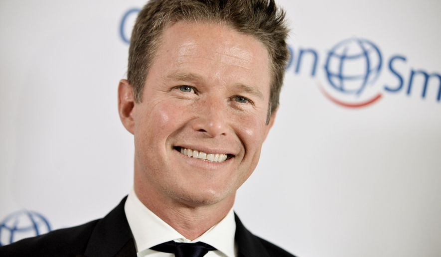 "FILE - In this Sept. 19, 2014 file photo, Billy Bush arrives at the Operation Smile's 2014 Smile Gala in Beverly Hills, Calif. Bush will begin appearing on the ""Today"" morning show during NBC's coverage of the Rio Olympics in August, the network said Tuesday, May 17, 2016. (Photo by Richard Shotwell/Invision/AP, File)"