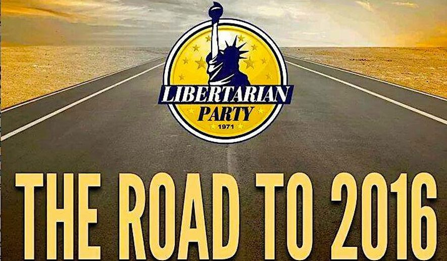 The Libertarian Party has gotten some financial support just as public attention to their cause and their status as a third party increases. (Libertarian party)