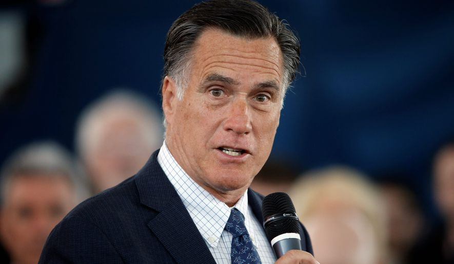 Former Republican presidential candidate Mitt Romney waited too long to push back against TV attack ads in 2012, experts say. (Associated Press)