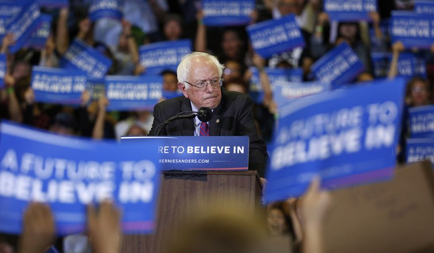 Sen. Bernard Sanders has been a Vermont independent during his 25 years in Washington. With no real loyalty to the party itself, he seems eager to rage against the Democratic establishment. (Associated Press)