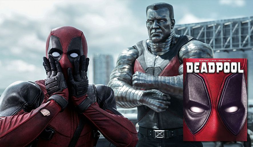 "Ryan Reynolds stars as ""Deadpool,"" now available on Blu-ray from 20th Century Fox Home Entertainment."