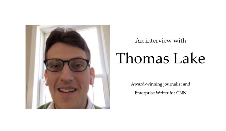 Interview with Thomas Lake.